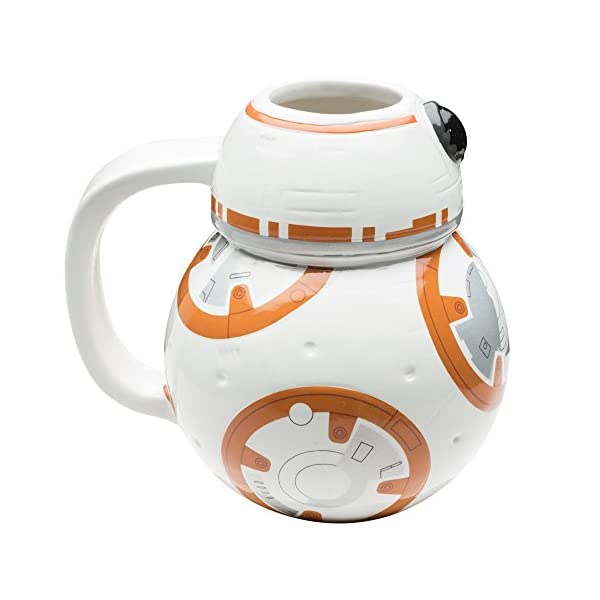Zak Designs SWRH-9537 Star Wars Coffee Mug, 12 oz, BB-8