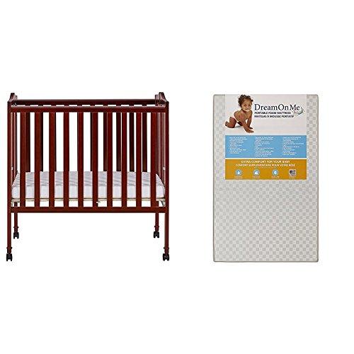 Dream On Me Cherry Folding Crib - 8