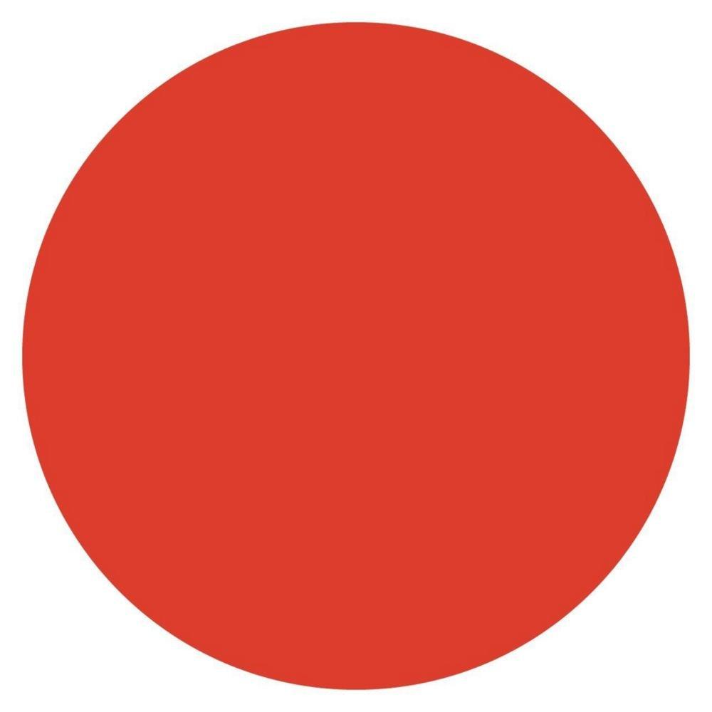 DayMark 112240 MoveMark Red 3/4'' Blank Day Circle - 2000 / RL