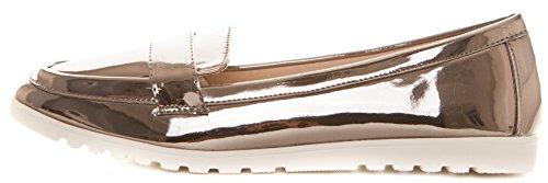 Caprium Donna Da Grau Metallic Scarpe OHpz60