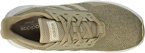 adidas Women's Duramo 9 Running Shoe, Light Brown/Light Brown/Clear