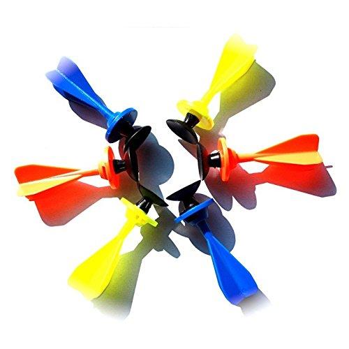 BestSaller Petron Fun Dart Pfeile mit Saugnapf, Zubehör für Armbrust, mehrfarbig (Farbe zufällig, 100 Stück)