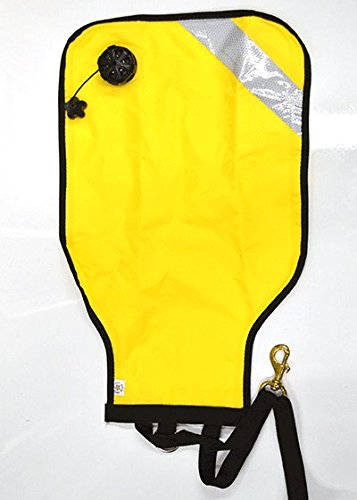 (Instructor Nylon Lift Bag 25lb Yellow with Reflector, Dump Valve Scuba Diving)