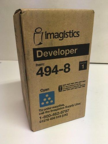 4948 IMAGISTICS (OCE) CYAN DEVELOPER 494-8 FOR CM4530 CM3530