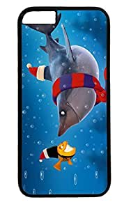 The Big Bad Shark Thanksgiving Easter PC Black Case for Masterpiece Limited Design iphone 6 by Cases & Mousepads
