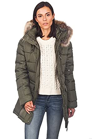Amazon.com: Women's Pajar Serena Coat - Military Green - M