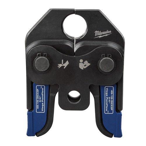 Milwaukee 49162633P M18 3/4 in. Viega PureFlow Jaw for Short Throw Press Tool by Milwaukee