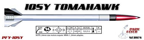 (LOC Precision Flying Model Rocket Kit 1.63