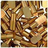 WIDGETCO 1/4'' Solid Brass Shelf Pins