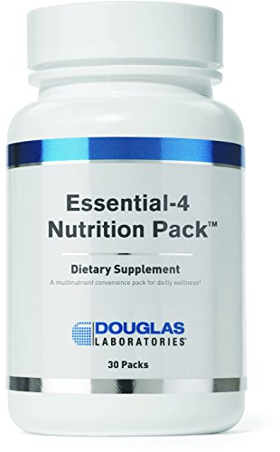 Douglas Laboratories - Essential 4 Nutrition Pack - 4 Foundational Products in One Daily Convenience Pack for Daily Wellness* - 30 ()