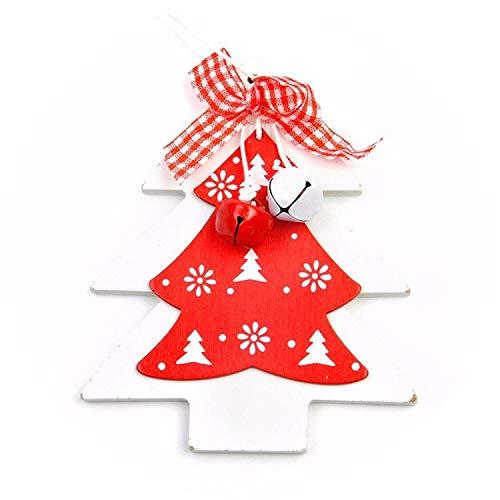 Noon-Sunshine decorative-plaques 1Pc Natal Various Christmas Charm Xmas Pendant Drop Ornaments Hanging Decor Christmas Tree Decoration,H ()