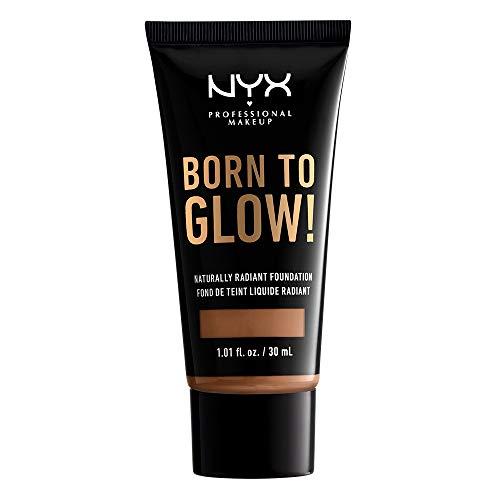 NYX PROFESSIONAL MAKEUP Born To Glow Naturally Radiant Foundation - Mahogany