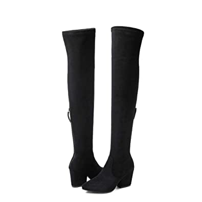 1af50fd6b95f N.N.G Women Boots Winter Over Knee Long Boots Fashion Boots Heels Autumn  Quality Suede Comfort Square