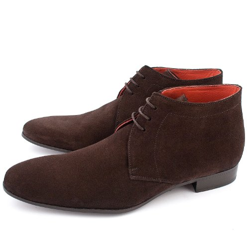 Exclusif Paris Olson Nubuck Marron, Bottines homme homme Nubuck Marron Taille 42