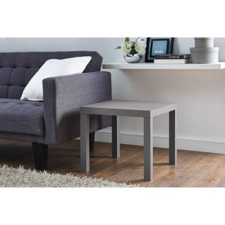 Mainstays Parsons End Table (Gray)