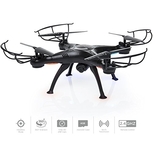Best Choice Products 6-Axis Headless RC Quadcopter FPV RC Drone w/ WiFi HD Camera, Real Time Video, Altitude Hold