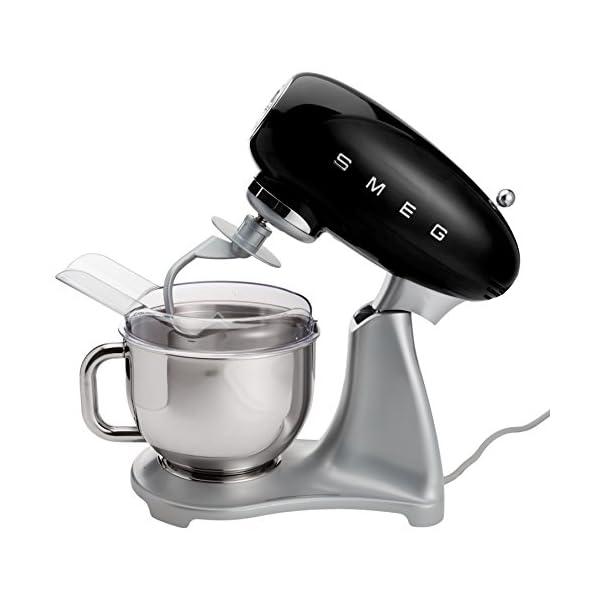 Smeg 5-Quart Stand Mixer-Black 3