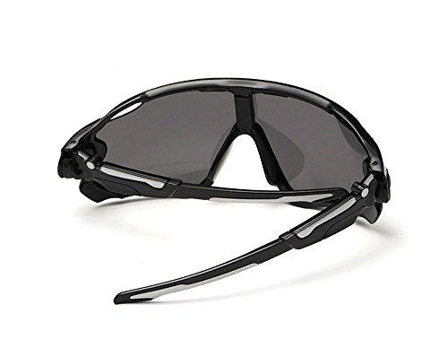 voyage conducteur CHshop conduisant de Tout de des Noir Gris lunettes Lunettes Brillant awqE7S