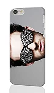 "Calvin Harris glasses with diamonds Personalized Diy Custom Unique 3D Rough Hard Case Cover Skin For iPhone 6 Plus 5.5"" inches, Design By Graceworld"