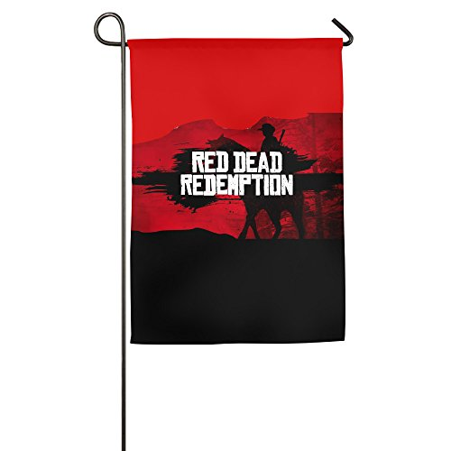 DEMOO Red Dead Redemption Garden Flag/Home Flag/Game