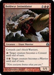 Magic: the Gathering - Boldwyr Intimidator - (Dragon Intimidator)