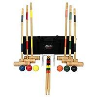 Juego de croquet Baden Deluxe Series