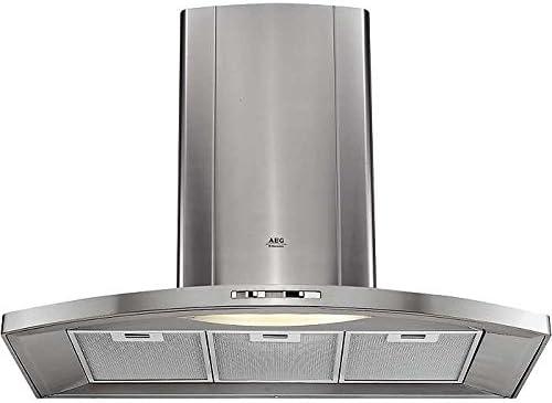 AEG DK-9190-m 410 m³/h De pared - Campana (410 m³/h, Canalizado/ Recirculación, 50 dB, De pared, 11 W, 1 bombilla(s)): Amazon.es: Hogar