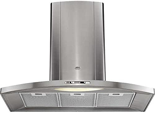 AEG DK-9190-m 410 m³/h De pared - Campana (410 m³/h, Canalizado/Recirculación, 50 dB, De pared, 11 W, 1 bombilla(s)): Amazon.es: Hogar