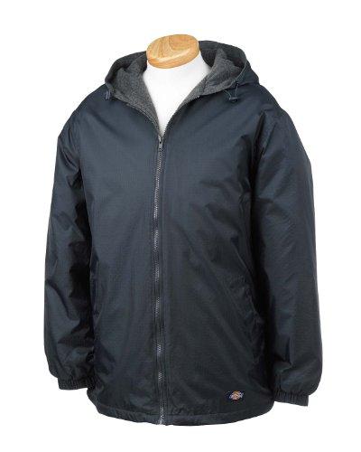 Dickies Mens Fleece Lined Hooded Jacket