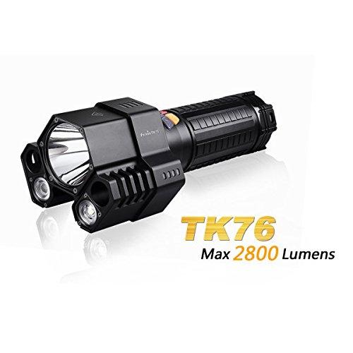 Bazaar FENIX TK76 CREE XML2 3 Kopf 2800 Lumen High Light LED Taschenlampe mit Schlauch