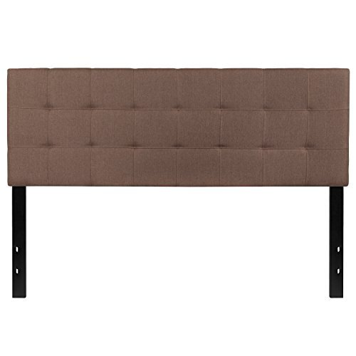 Flash Furniture Bedford Tufted Upholstered Queen Size Headboard in Camel (Queen Size Bed Furniture)