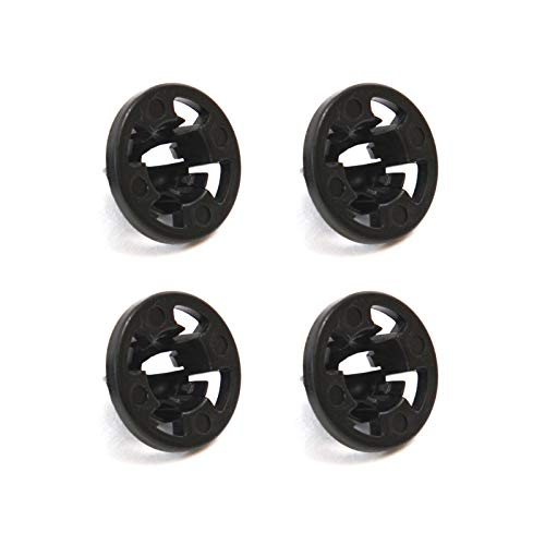 Red Hound Auto 4 Tail Light Grommets Retainer Clips Compatible with Dodge Ram 1500, 2500, 3500 (2007-2013) (Tail Light Retainer)