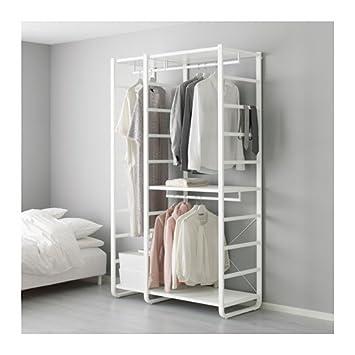 IKEA estantería de 3 secciones, color blanco 16204.17265 ...