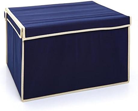 Las telas son de acabado integrado del chasis en el compartimiento de almacenamiento de grandes volúmenes de ropa bin ,60x40x30 cm,02: Amazon.es: Hogar