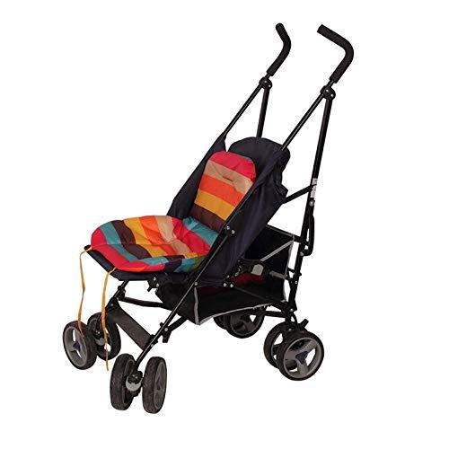 Almohadilla de asiento de coche impermeable acolchado Padrino Rainbow Baby Kids cochecito coj/ín