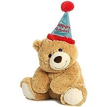 Aurora World Plush Bear, Happy Birthday Bear
