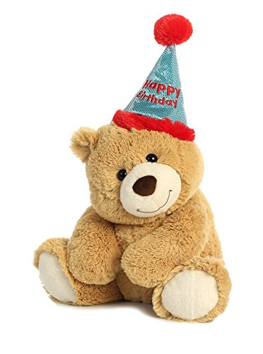 Aurora World Plush Bear, Happy Birthday (Happy Birthday Bears)