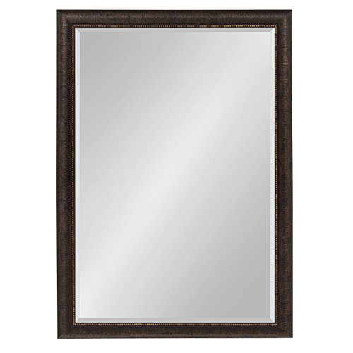Kate and Laurel Aldridge Framed Wall Mirror 28x40 Bronze