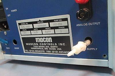mocon mocon skye 2000 leak burst pressure decay tester part 001