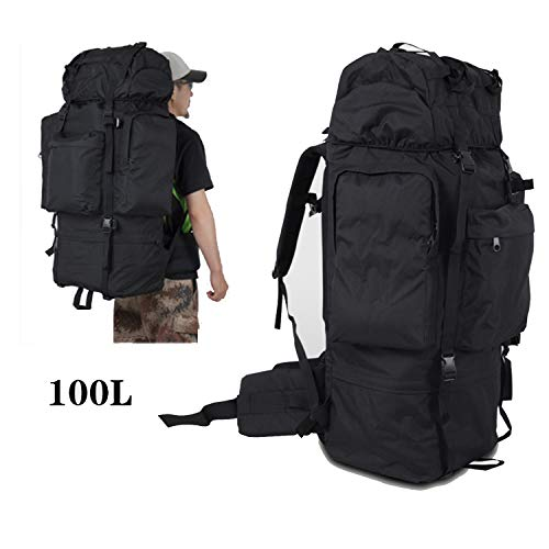 WINGACE Outdoor Mountaineering Tactical Backpack 110L Men s Backpack Camping Military Travel Bags Backpacks Hiking Rucksack knapsack