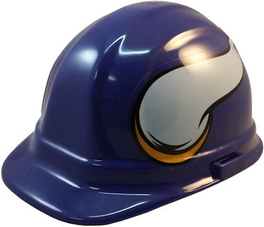 NFL Minnesota Vikings Hard Hats with Ratchet Suspension (Minnesota Vikings Hat Hard)