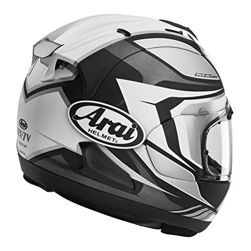Arai Corsair-X Bracket Adult Street Motorcycle Helmet - White/X-Small