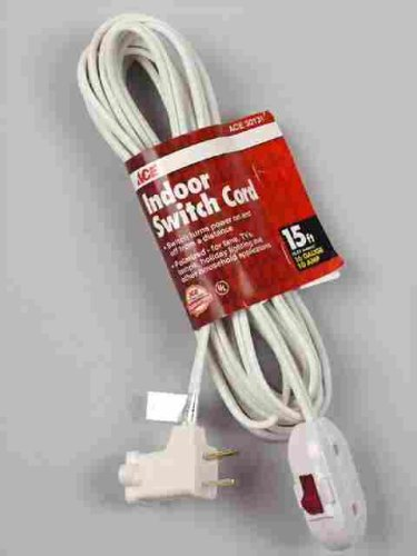 ace remote switch extension cord 1pc 002 015fwh extension cord rh amazon com wiring. switch into an extension cord