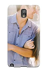 Frank J. Underwood's Shop 6568696K35041357 New Arrival Cover Case With Nice Design For Galaxy Note 3- Lovely Couple Watching Each Other Eyes Happily