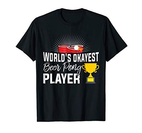 Beer Pong Champion Costume Master Champ Legend T Shirt World