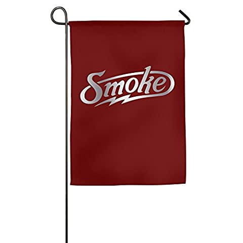 Tony Stewart Smoke Platinum Style BGERIGER Home Garden Flags (Garden Flag Tony Stewart)