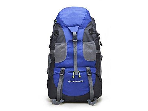 ハイキングメンズレディーススポーツアウトドア登山バッグハイキングバックパック(ブルー) forアウトドア旅行   B07FDXKJ1D
