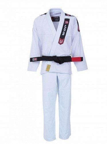 War Kimonos 柔術衣 CLASSIC 白/ブルテリア War Kimonos 柔術衣 練習用 試合用 ブラジリアン柔術 BJJ 柔道 大人用 男女兼用 丈夫な生地 初心者の方にも B07BT52JGC  A0