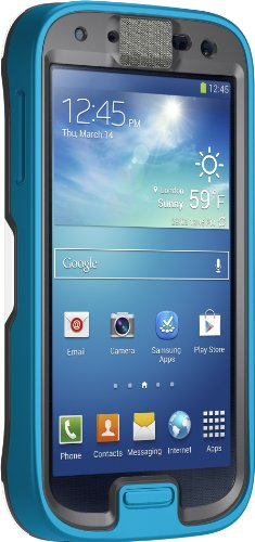 OtterBox Preserver Series Waterproof Case for Samsung GALAXY S4 - Retail Packaging - Permafrost (Slate Gray/White/Breeze Blue)