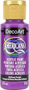 DecoArt DA353-3 Brilliant Purple Americana Craft Paint, 2 oz